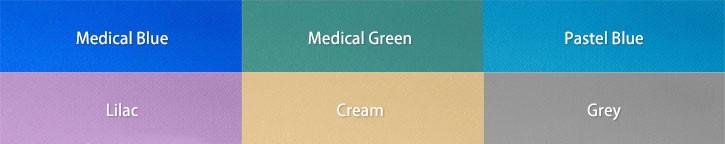Medical Curtain Colours