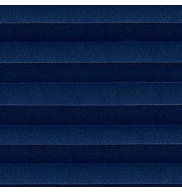 Pleated Voile Cobalt Blue