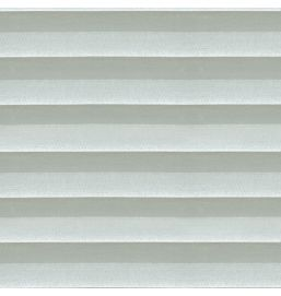 Pleated Voile White